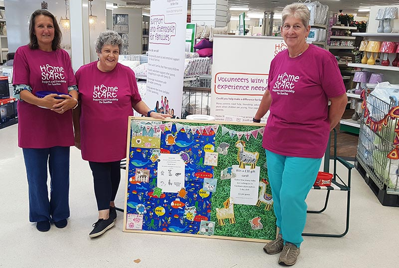 Home-Start Hampshire and Dunelm Join Forces