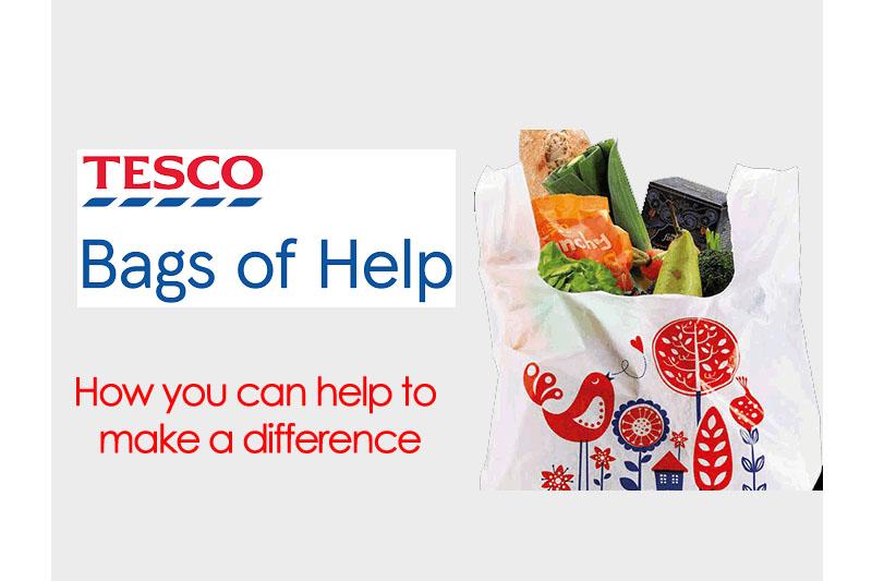 Home-Start Hampshire & Tesco Bags of Help Grant Scheme
