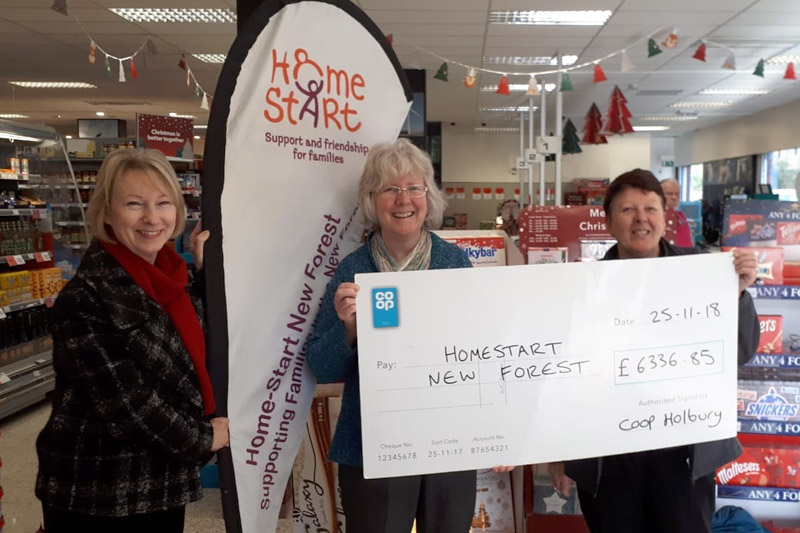 Co-Op helps to raise funds for Home-Start